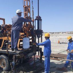 مطالعات ژئوتکنیک مخازن ترمینال نفتی قشم