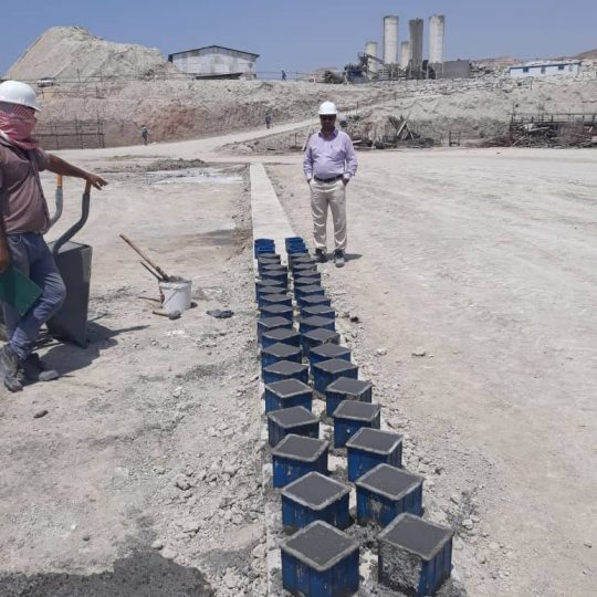 Soil and Concrete Laboratory for Parsian Termial